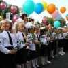 Омские школьники отмечают первый учебный день