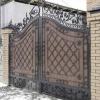 Кованые ворота – эксклюзивно и богато