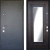 Новые двери – металл и зеркало