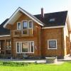 Как построить на даче уютный и красивый дом из бруса