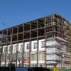 Ремонтируем фасад здания.
