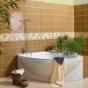 Керамическая плитка для ванной преобразит и придаст неповторимый стиль вашему интерьеру