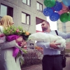 Видеосъемка выписки из роддома: счастливый малыш