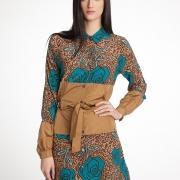 Шелковая женская одежда