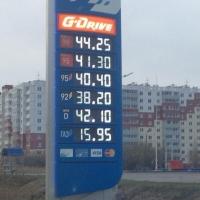 В Омске второй раз за неделю подорожал бензин