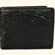 Кошелек из кожи крокодила – дорогой и эксклюзивный подарок