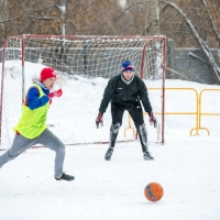 В Омске начался турнир по мини-футболу на снегу