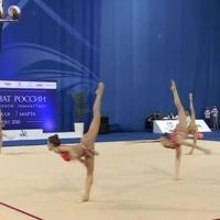 Команда омских гимнасток взяла серебряные медали на чемпионате России