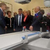 Ольга Голодец посетила новую детскую больницу в Омске