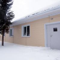 В Омской области достроили еще один фельдшерско-акушерский пункт