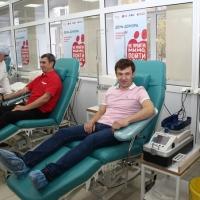 Бронзовый призёр Олимпийских игр Максим Чудов в Омске впервые стал донором