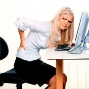 Профессиональное заболевание спины