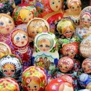 Русская матрешка в Чехии