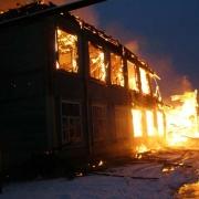 В омской школе-интернате произошел пожар