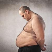 В России в три раза выросло количество мужчин с ожирением