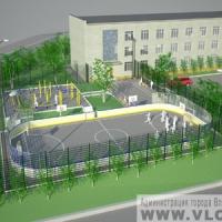 Новая спортплощадка открывается в Омске