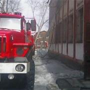 В омской школе №56 горел спортзал