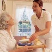 Услуги сиделки для пожилых людей