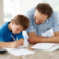 Готовим домашнюю работу вместе с ребенком
