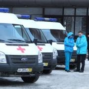 Омская станция скорой помощи получила 31 автомобиль