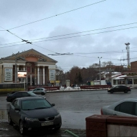 В Омске у кинотеатра «Маяковский» уберут очаг ДТП