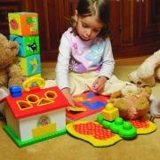 Развитие ребенка с помощью игрушек