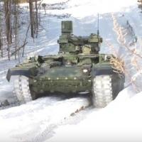 Появилось видео испытаний БМПТ «Терминатор», гусеницы которых делают в Омске
