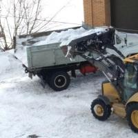 С начала сезона вывезли почти 74 тысячи кубометров снега с омских улиц