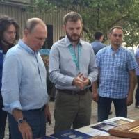 Молодой омич подарил Путину икону