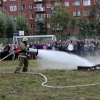 В омской гимназии инсценировали пожарную тревогу и эвакуацию
