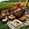 Необходимые продукты для пикника