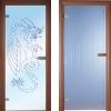 Как используются стеклянные двери