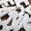 Применение пенопластовых объемных букв