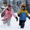 Одеваем ребенка на зимнюю прогулку